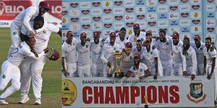 Major Upset: 'Understrength' West Indies beat 'experienced' Bangladesh, completes whitewash 1