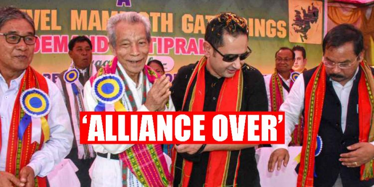 Tripura: TIPRA to contest TTAADC elections alone as alliance with IPFT over, informs Pradyot Deb Barman 1