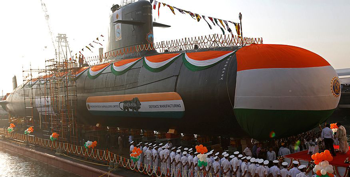 Scorpene-class submarine INS Karanj commissioned into Indian Navy 2