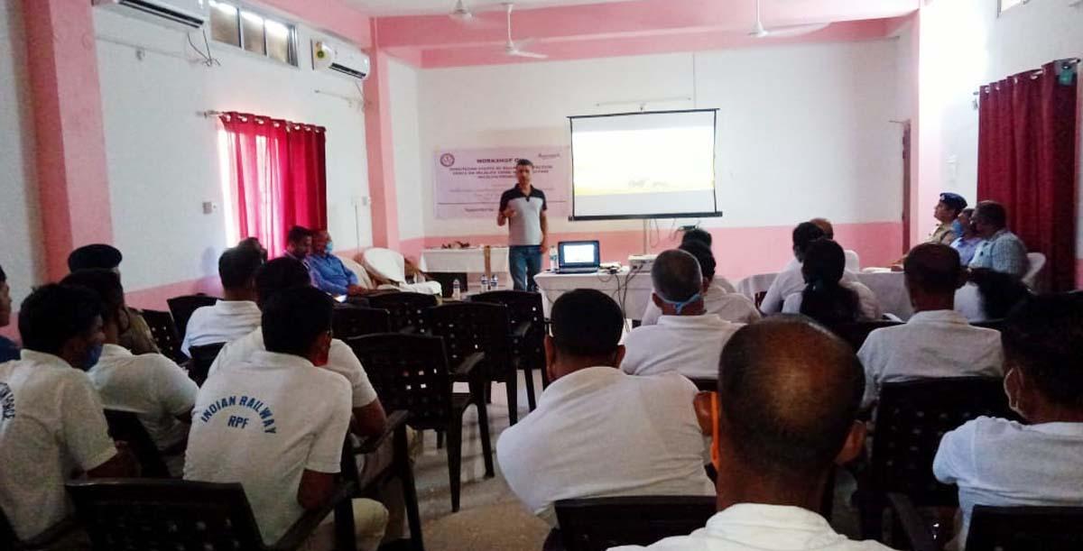 Aaranyak workshop for Railway Protection Force
