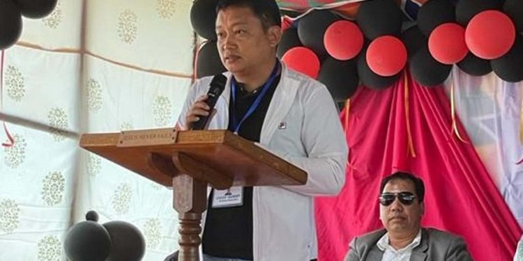 Arunachal Pradesh MLA Nyamar Karbak