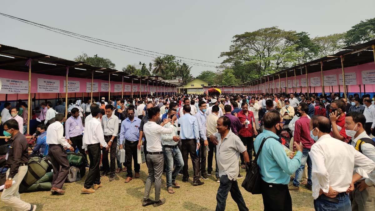 Assam Assembly election 2021 in Lakhimpur district