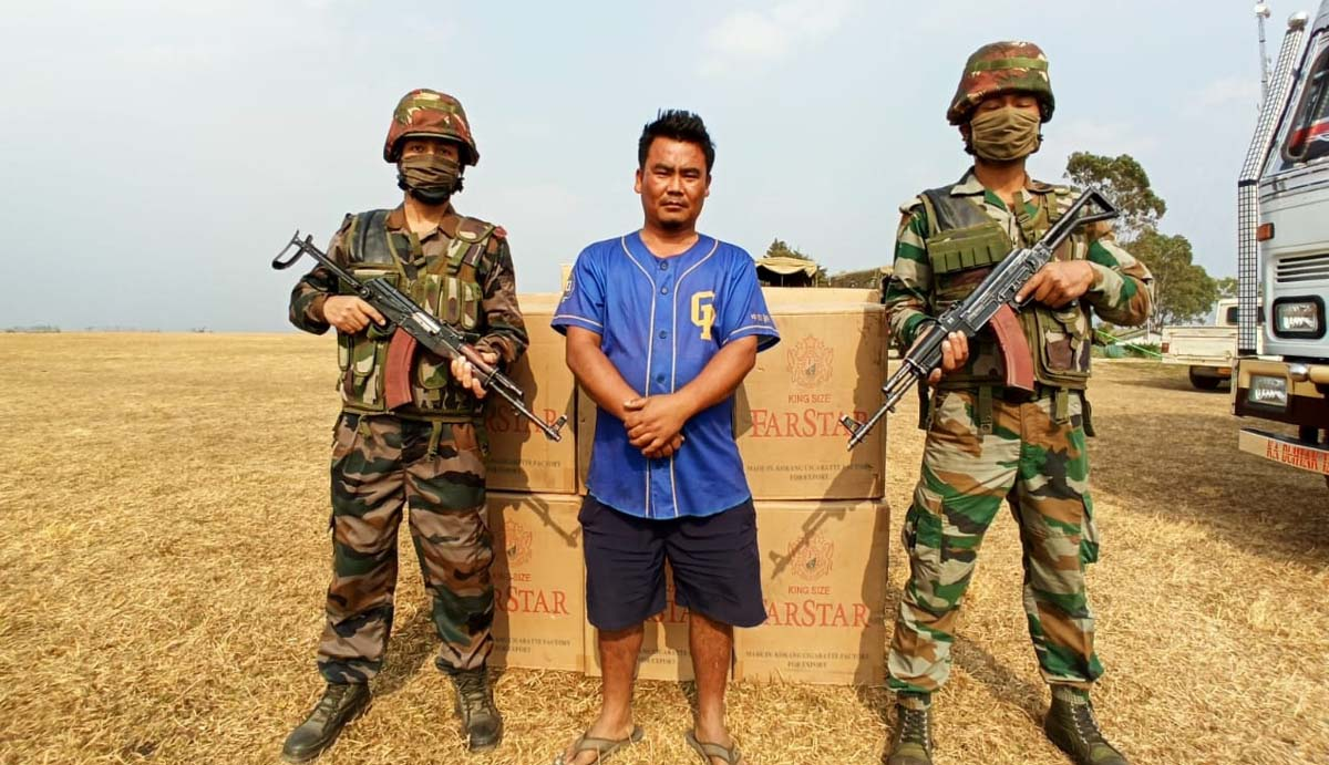 Assam Rifles troops