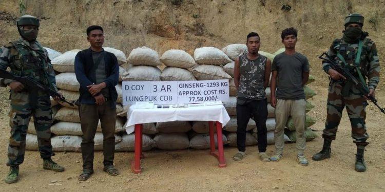 Assam Rifles recovers Ginseng