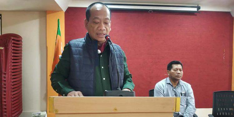 Mizoram BJP president Vanlalhmuaka