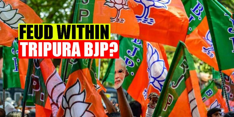 'Feud' within Tripura BJP over 'friendly contests' with IPFT in TTAADC elections 1