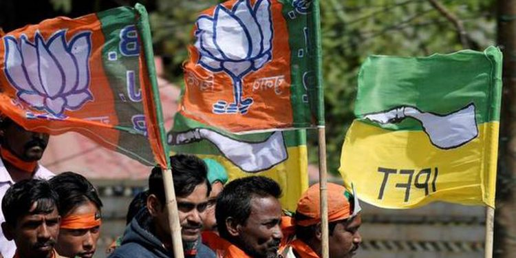 Tripura: BJP-IPFT alliance announces candidates for TTAADC elections 1