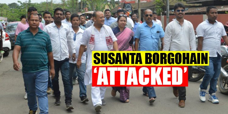 Assam Assembly elections: Congress' Thowra candidate Susanta Borgohain 'attacked by BJP workers' 1