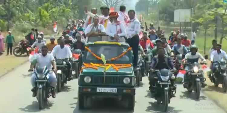 Assam Congress launches mega 'Congressor 5 Guarantee' Yatra 1