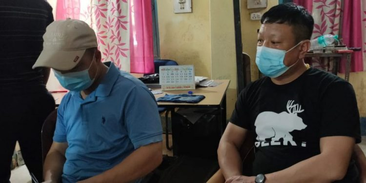 Chinese nationals were identified by the police as Nav Jang Jung, 39, and Kai Leng, 42.