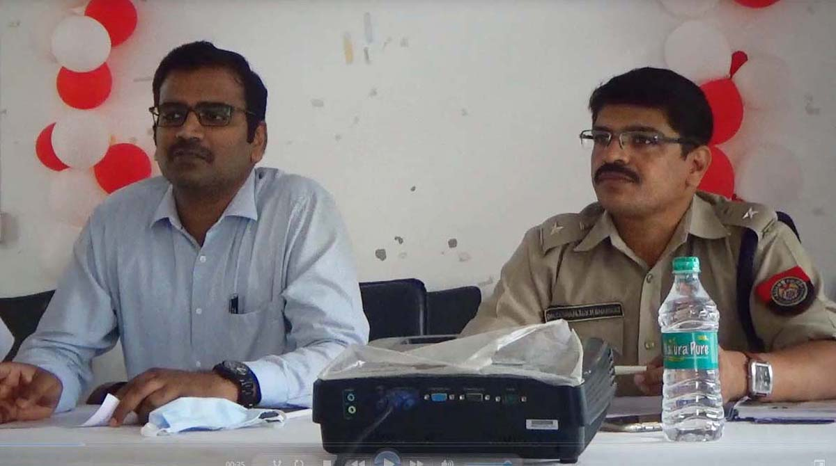Dhemaji deputy commissioner and superintendent of police