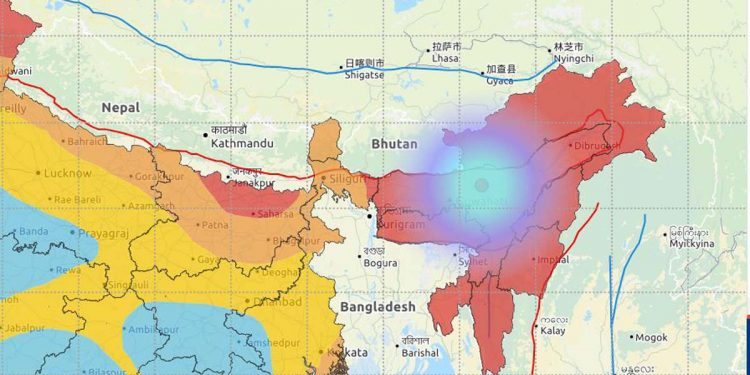 Earthquake Assam