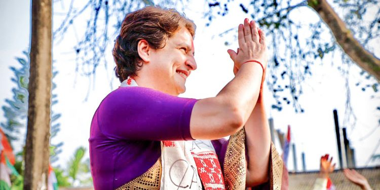 Assam has become unsafe for women under BJP rule: Congress leader Priyanka Gandhi 1