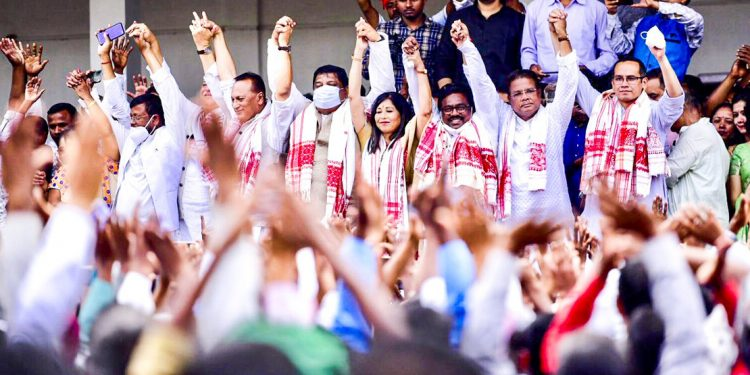 Assam Assembly elections: Senior Congress leader Rakibul Hussain files nomination from Samuguri 1