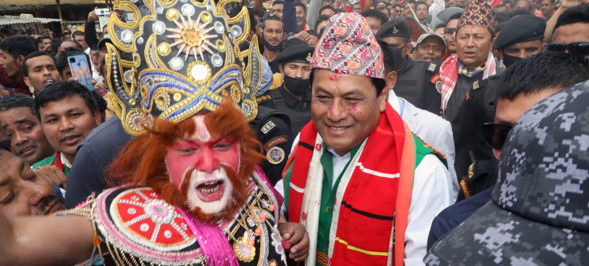 Assam CM Sarbananda Sonowal files nomination from Majuli constituency 1