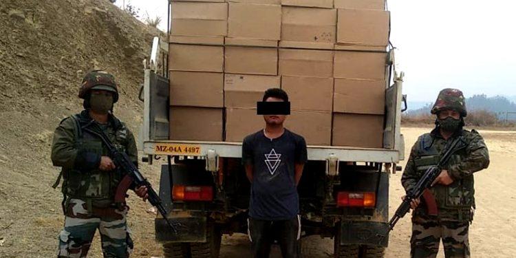Mizoram: Assam Rifles troopers seize smuggled items worth Rs 1.3 crores 1