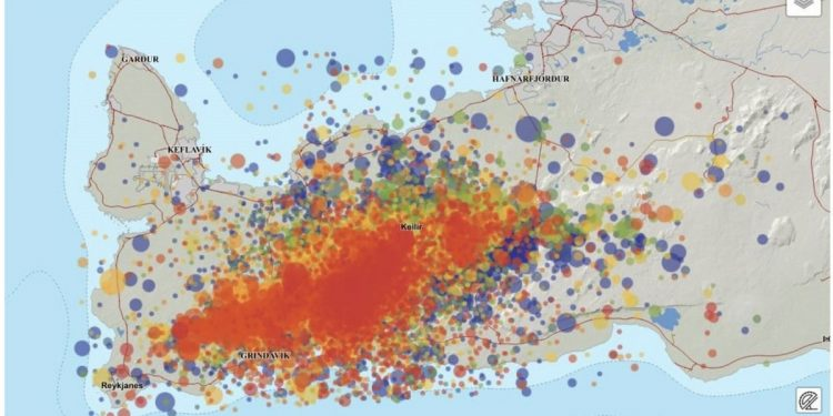 Iceland hit by 40,000 earthquakes in 20 days 1