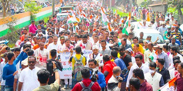 Assam Assembly elections: Congress' Barhampur candidate Suresh Borah files nomination 1