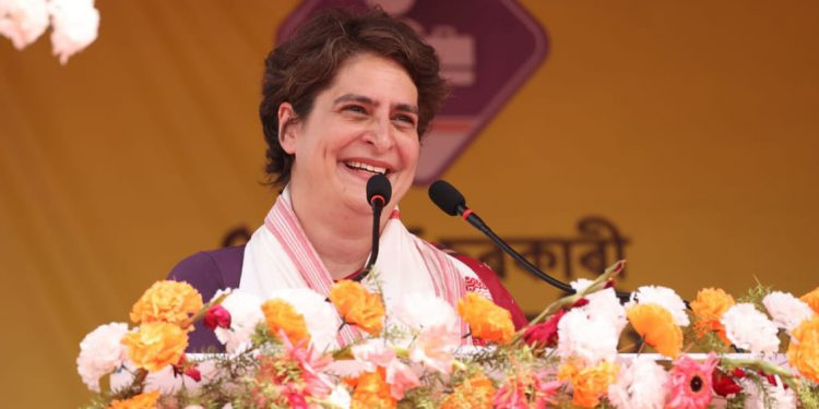 Your decision will either secure your children's future or break Assam: Priyanka Gandhi tells voters 1