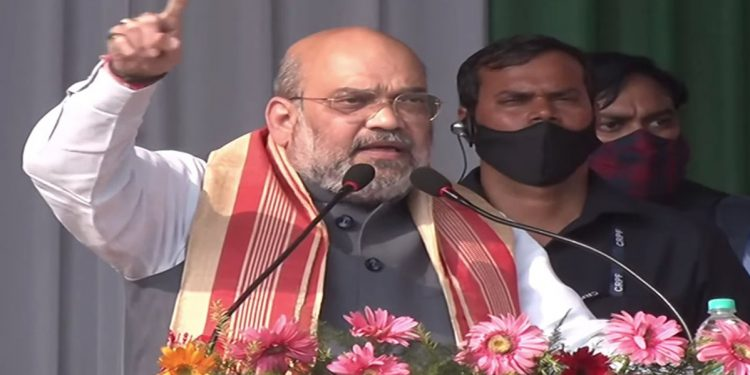 'Failed' in first five years, Amit Shah asks voters to give BJP another 5 years to control infiltration 1