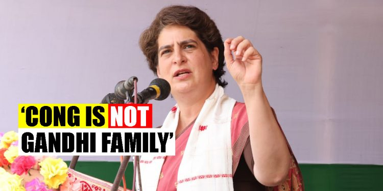 Congress is not Gandhi family, it is an idea on which India was built: Priyanka Gandhi silences critics 1