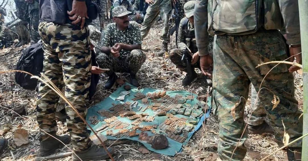 Maharashtra Police commandos gun down 5 Naxals in Khobramenda forest 1