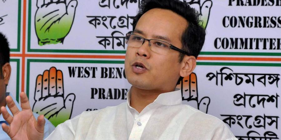 Congress MP Gaurav Gogoi.