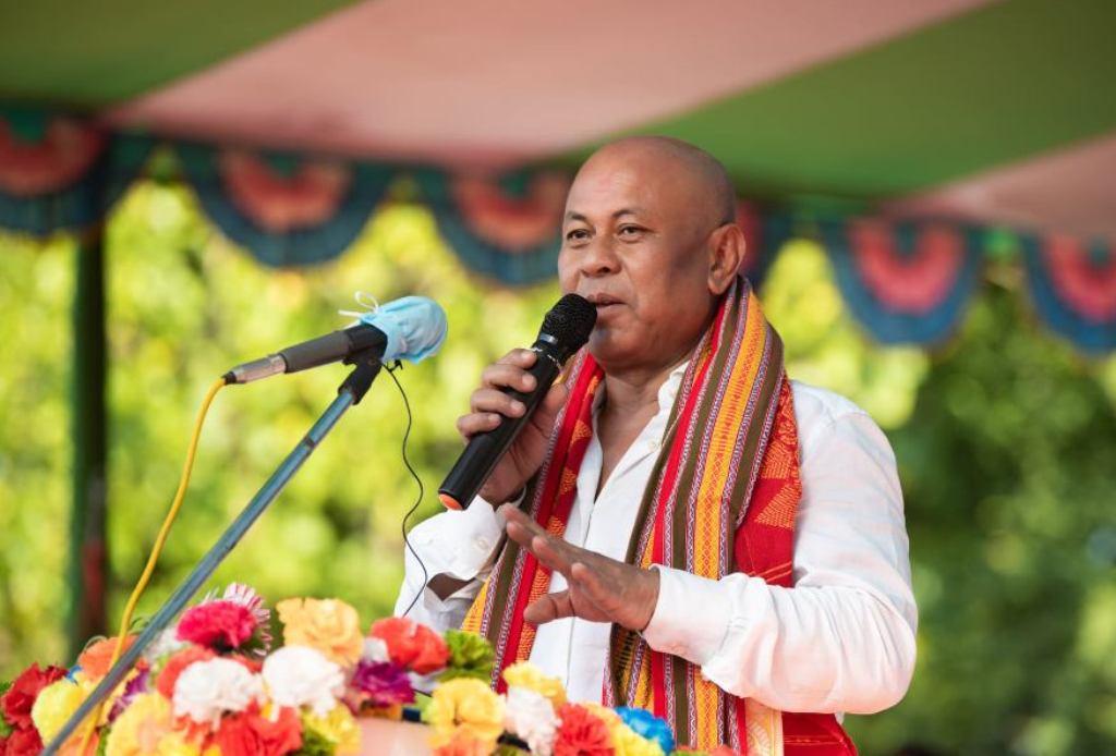 BPF chief Hagrama Mohilary (File image)