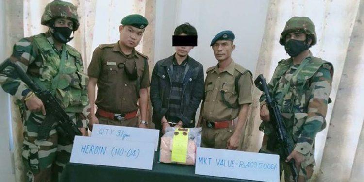Assam Rifles seize heroin
