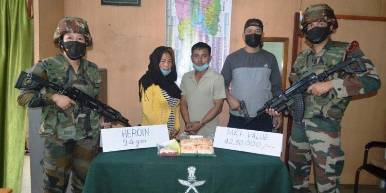 Heroin seized in Aizawl