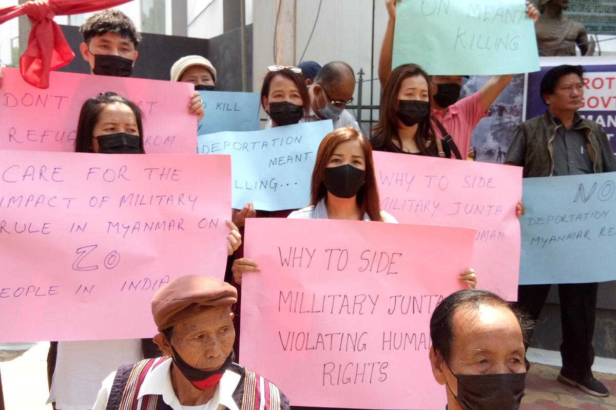 Do no deport Myanmar nationals, grant refugee status: Mizoram-based ZORO to Centre 4