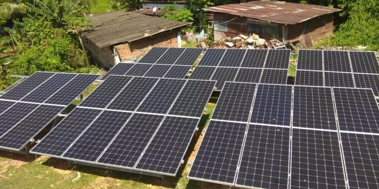Installation of 16kWp at EHA Alipur in Silchar.