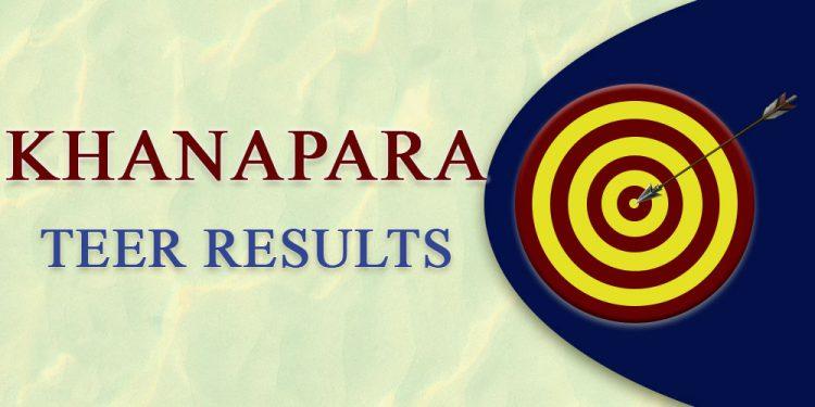 Khanapara Teer Result today — March 27, 2021 1