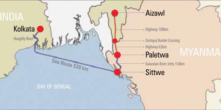 Mizoram-Myanmar cross-border road nearing completion: CM Zoramthanga 1