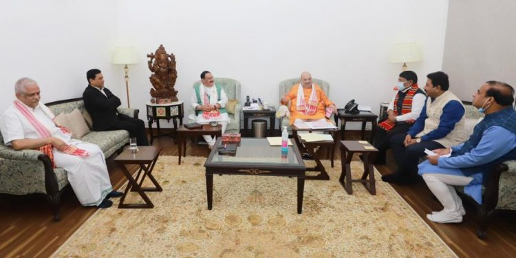 Assam Assembly election: BJP leaders meet to shortlist candidates' names 1