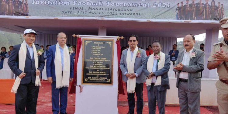 Meghalaya CM Conrad Sangma at a function