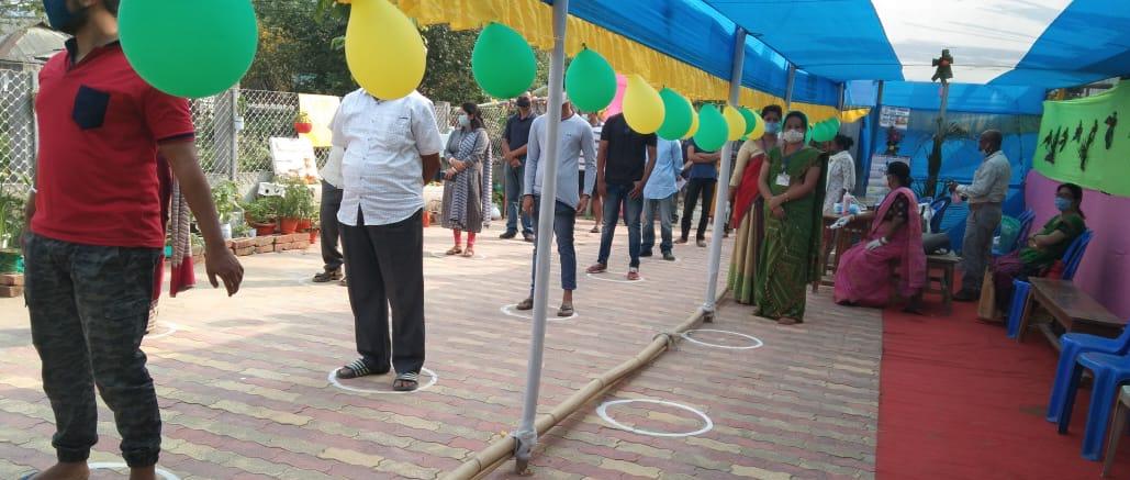 A Model Polling Station at Jorhat. (File image)