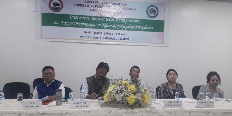 Nagaland agriculture production commissioner Y Kikheto Sema