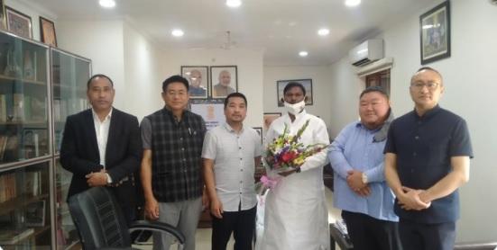 Nagaland delegation