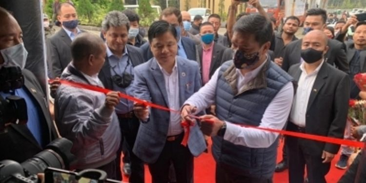 Chief minister Khandu along with state home minister Bamang Felix, inaugurated the Picturetime Digiplex with a flag-off ceremony.