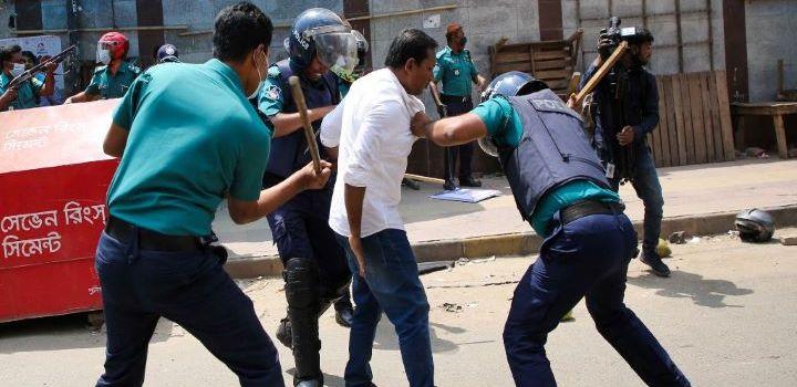 PM's Bangladesh visit: 40 injured in anti-Narendra Modi protest in Dhaka 1