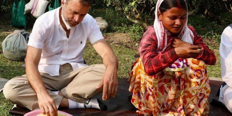Assam Assembly election: Will recruit special teachers to teach Sadri language in tea gardens, says Rahul Gandhi 1