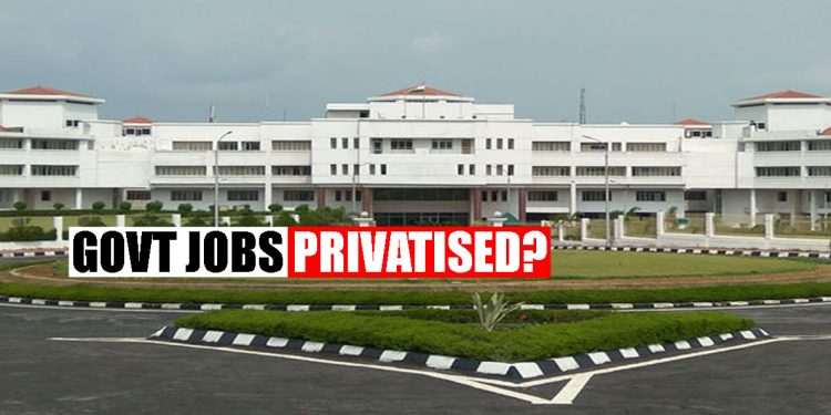 BJP-led Tripura Government outsources departmental jobs to private companies 1