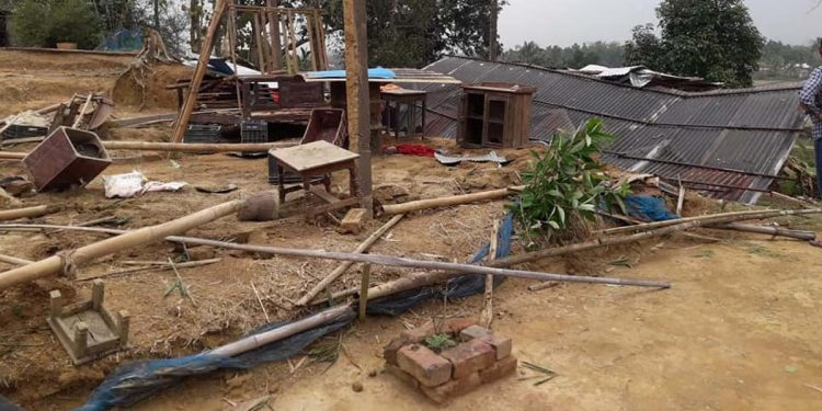 Thunderstorm in Kamalpur