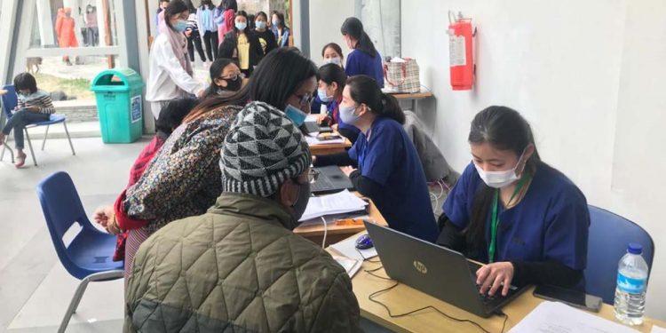 Vaccination in Bhutan