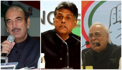 Assembly elections: Azad, Anand Sharma, Kapil Sibal & Manish Tewari missing from campaigners' list 1
