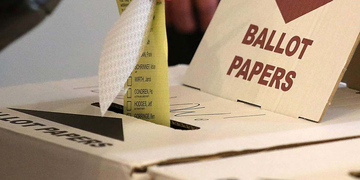 Assam Assembly election ballot papers