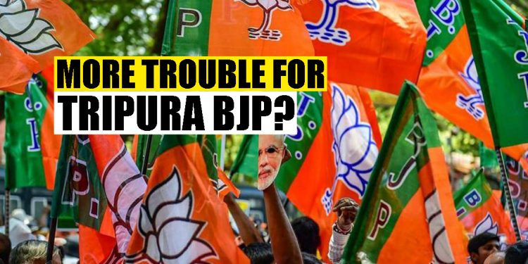 'Rebellion' within Tripura BJP: Party workers 'cannot accept' IPFT candidates for TTAADC elections 1