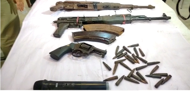 Arms, ammunition recovered in Kokrajhar ahead of Assam Assembly election 1