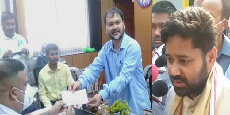 Assam: Lurin Jyoti Gogoi files nomination from Naharkatia and Duliajan, Akhil Gogoi from Sibsagar and Mariani 1